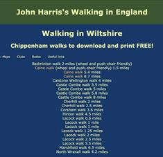 John Harris' Walking in Wiltshire