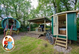 Widbrook Barns - Shepherd's Hut and Gypsy Caravan