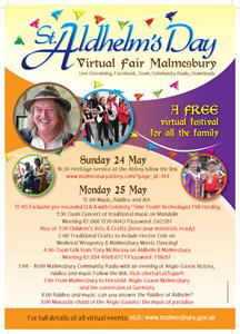St Aldhelm's Day Virtual Fair (24 May 2020 - 25 May 2020)