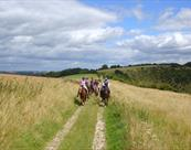 Riding with Pewsey Vale Riding Centre