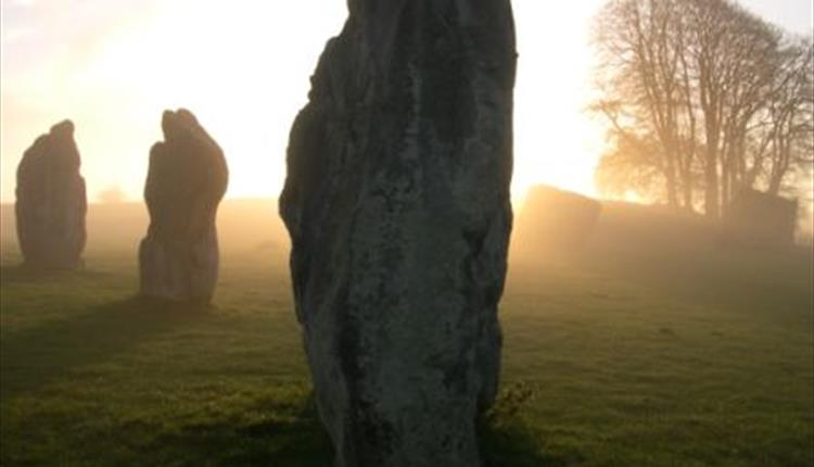 Part of Avebury stone circle