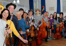 Free Friday: The Ramshackle Community String Orchestra