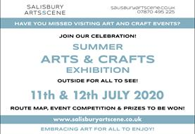 SALISBURY ARTS SCENE - SUMMER ARTS EXHIBITION - OUTSIDE FOR ALL TO SEE