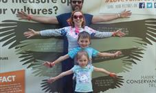 Family activities at Hawk Conservancy Trust