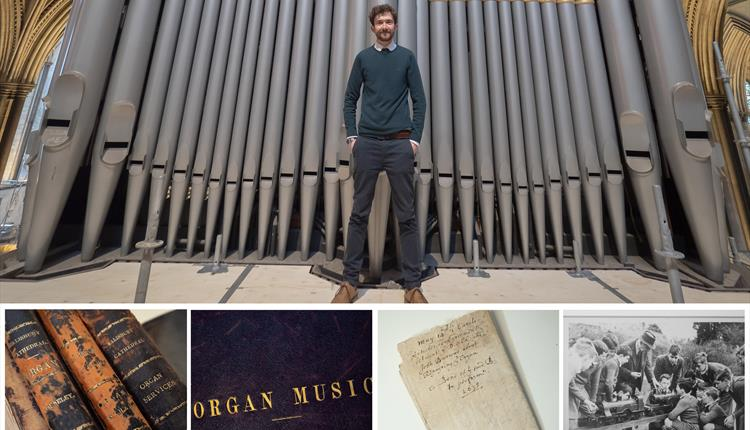 Library & Archive Spotlight Talk: What We Found in the Organ Loft…