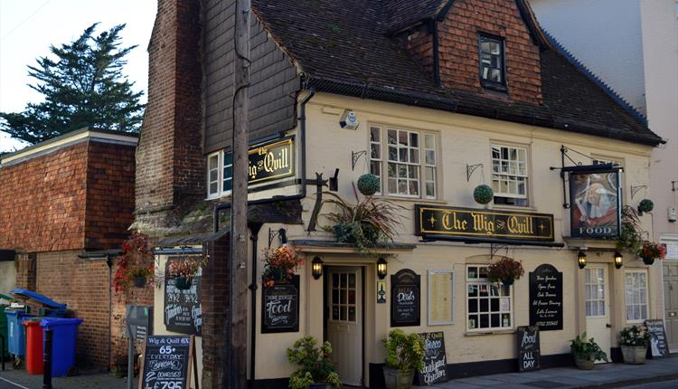 The Wig and Quill Pub