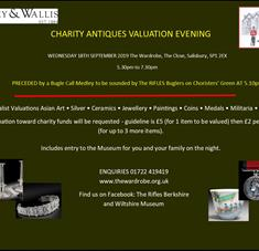 Charity Antiques Valuation Evening