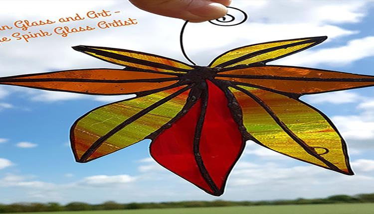 Cricklade Stained Glass Autumn Leaves Workshop