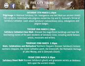 Salisbury City Guides English Tourism Week 17 - 25 March 2018