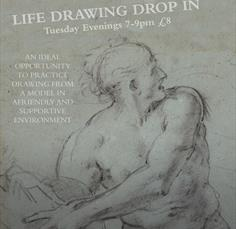 Life Drawing Drop in