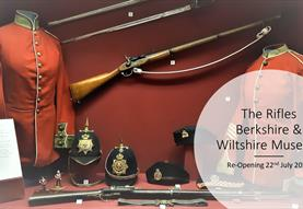 RE-OPENING Rifles Berkshire & Wiltshire Museum