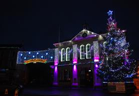 Melksham Christmas Fayre and Lights Switch On